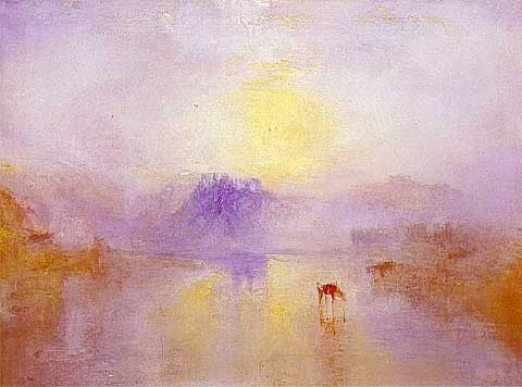 Joseph Mallord William Turner-Norham Castle, Sunrise