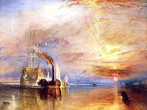 Joseph Mallord William Turner-The Fighting Temeraire