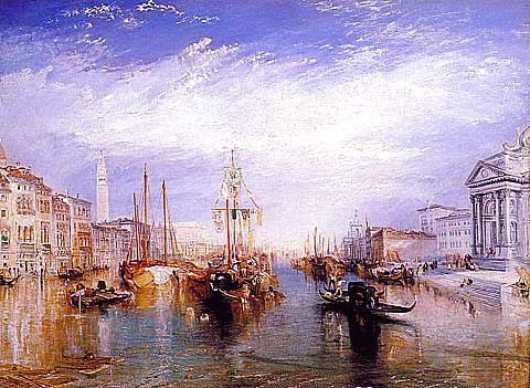 Joseph Mallord William Turner-The Grand Canal, Venice