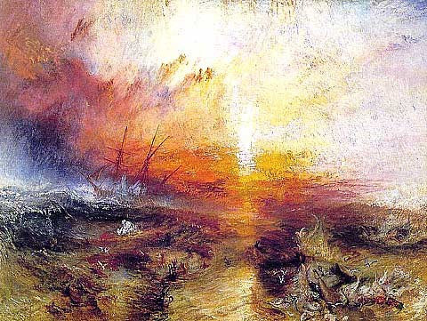 Joseph Mallord William Turner-The Slave Ship