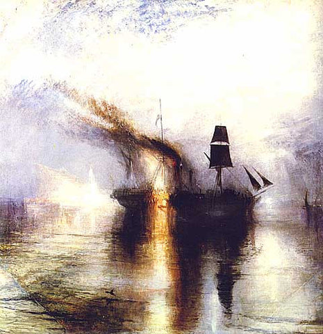 Joseph Mallord William Turner-Peace Burial at Sea
