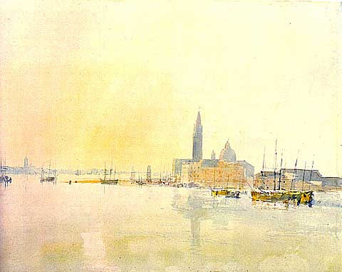 Joseph Mallord William Turner-Giorgio Maggiore Early Morning