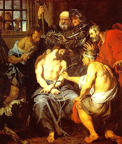 Van Dyck-The Crowning With Thorns