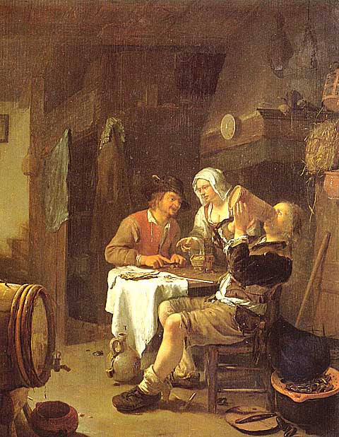 Van Mieris-The Peasant Inn