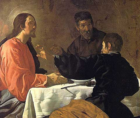 Diego Velazquez-The Supper at Emmaus