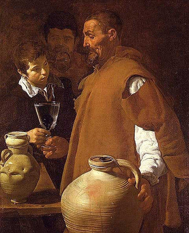 Diego Velazquez-The Waterseller of Seville