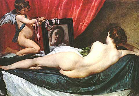 Diego Velazquez-The Toilet Of Venus