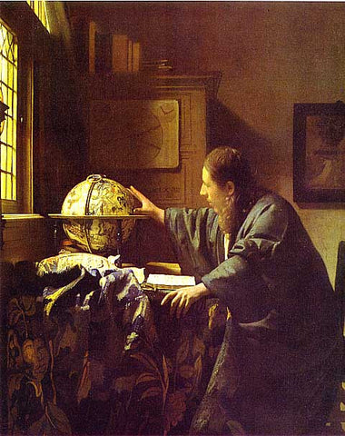 Jan Vermeer-The Astronomer
