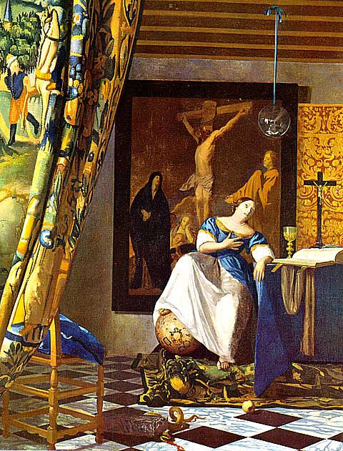 Jan Vermeer-Allegory Of The New Testament