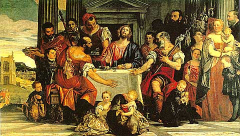 Veronese Paolo-Supper At Emmaus