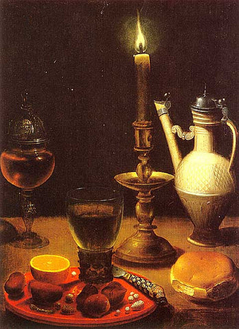 Von Weding-Still Life With Candles