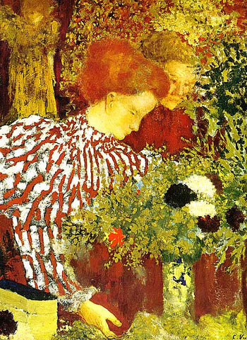 Edouard Vuillard-The Stripped Blouse