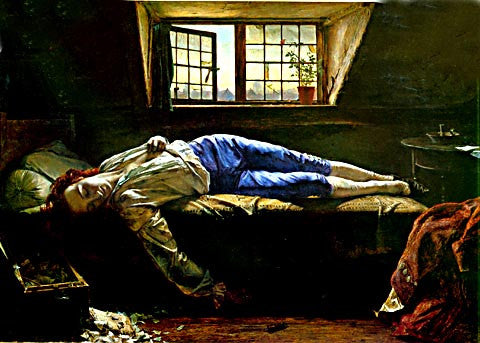Henry Wallis-The Death of Chatterton