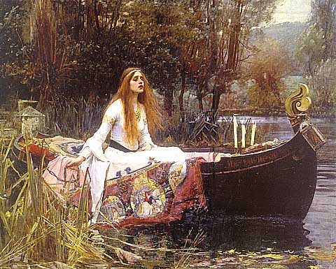 John William Waterhouse- Lady Of Shalott