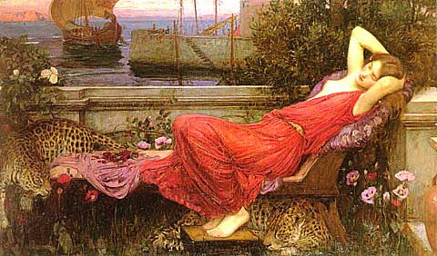 John William Waterhouse-Ariadne