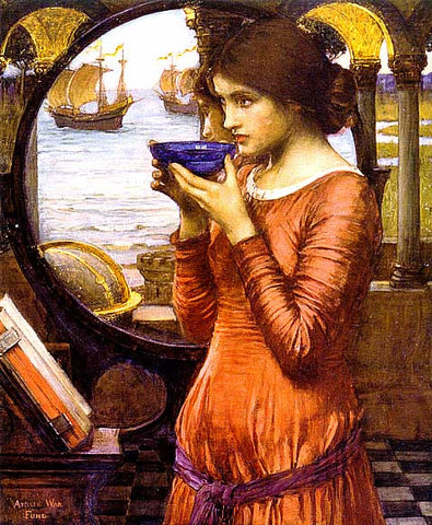 John William Waterhouse-Destiny