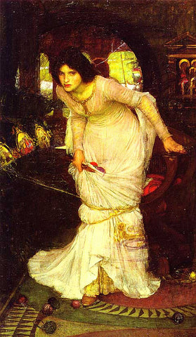 John William Waterhouse-Lady Of Shalott 1894