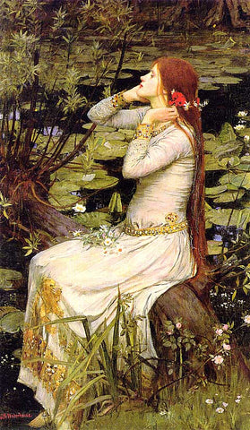John William Waterhouse-Ophelia