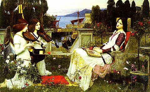 John William Waterhouse-Saint Cecilia