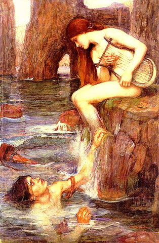 John William Waterhouse-The Siren
