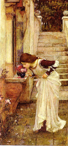 John William Waterhouse-The Shrine