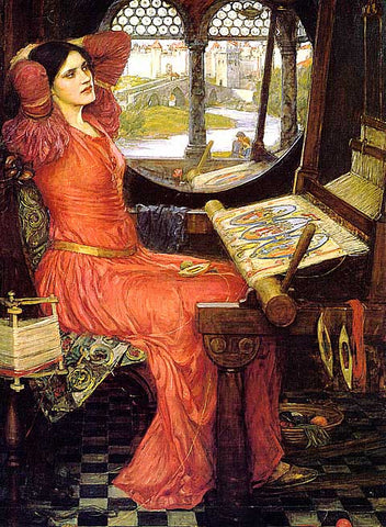 John William Waterhouse-I am Half Sick Of Shadows Say Lady Of Shalott