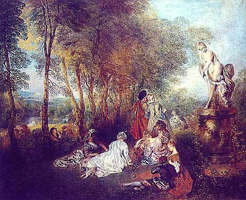 Watteau Jean-The Pleasures of Love