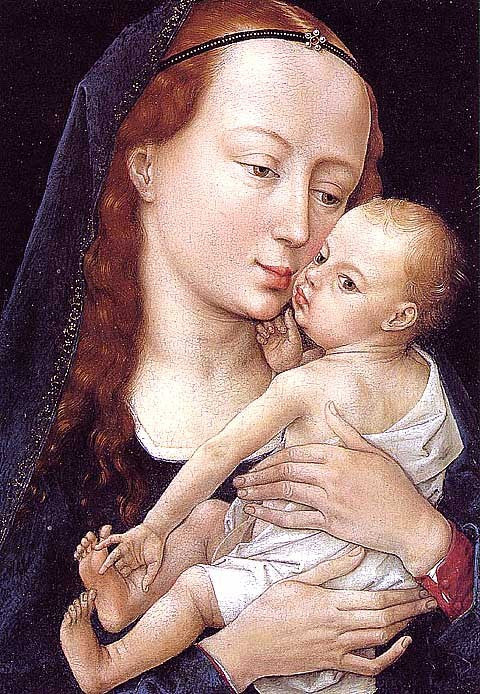 Weyden Rogier-Virgin and Child