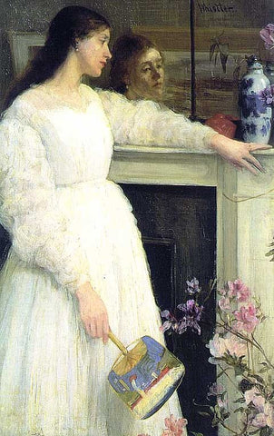 James Whistler-Symphony in White