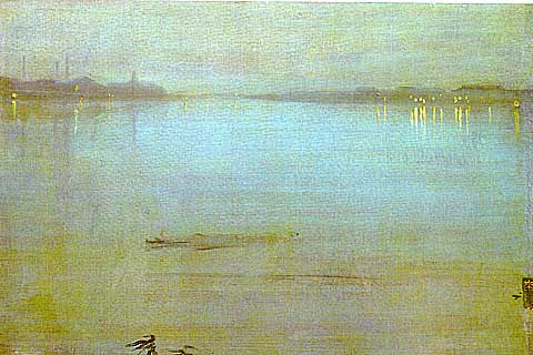 James Whistler-Nocturne in Blue