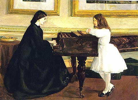 James Whistler-At The Piano