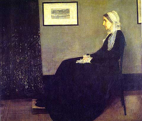 James Whistler-Portrait Of The Painters Mother