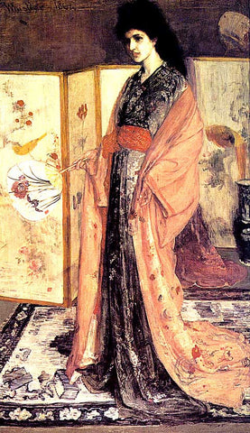 James Whistler-Rose And Silver