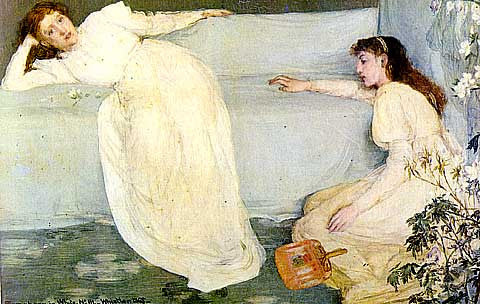 James Whistler-Symphony In White III