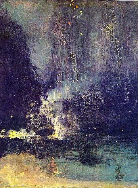 James Whistler-The Falling Rocket