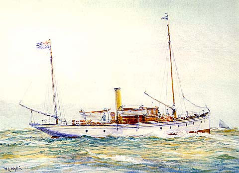 W. Wylie Ship-A Pleasant Breeze