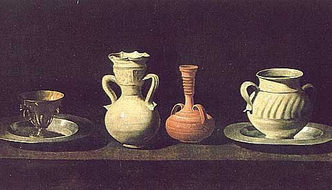 Zurbaran Francisco-Still Life