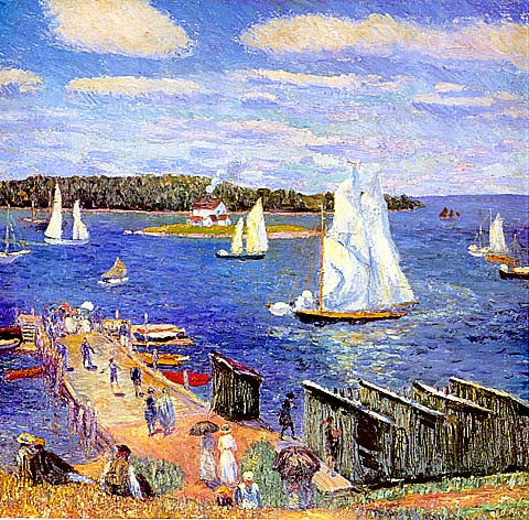 William Glackens-Mahone Bay