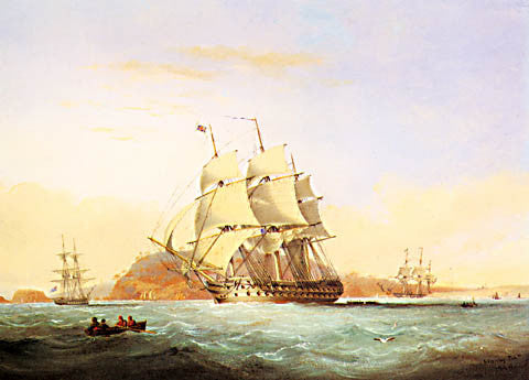 Nicolas Matthews Condy-Man Of War Off Mount Edgecumbe