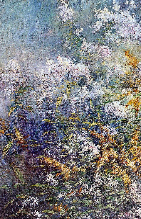 John Henry Twachtman-Meadow Flowers