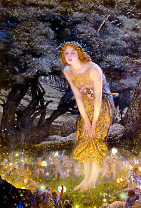 Edward Robert Hughes-Midsummer Eve