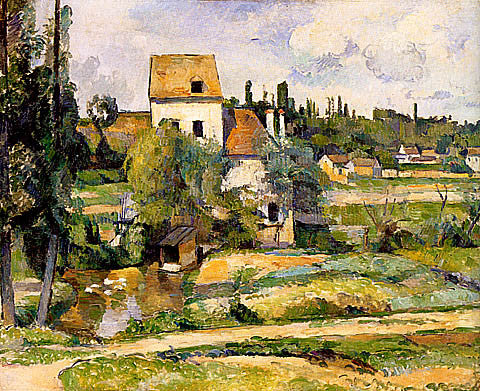 Paul Cezanne-Mill On The Couleuvre At Pontoise