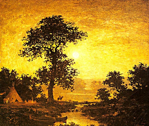 Ralph Albert Blakelock-Moonlight 1885