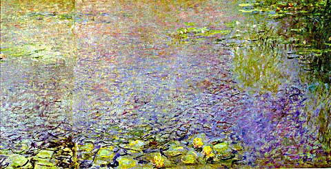 Claude Monet-Morning (Detail-2)
