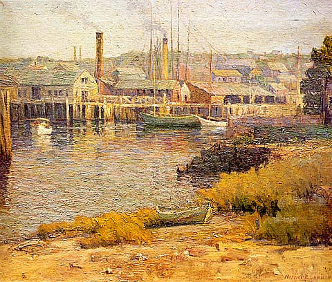 Harriet Lumis-Morning In The Harbor