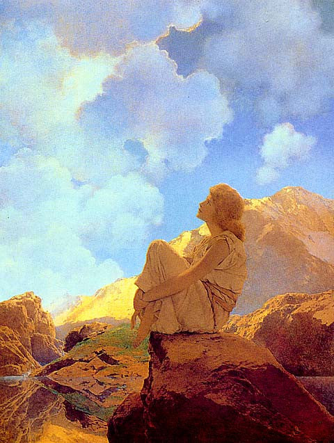 Maxfield Parrish-Morning