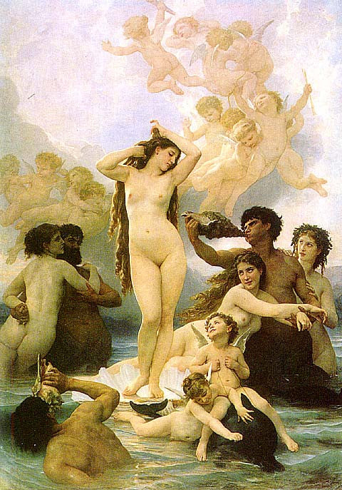 William Adolphe Bouguereau-The Birth Of Venus