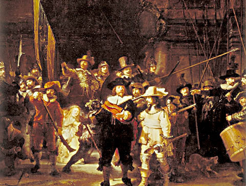 Rembrandt-Night Watch 1642