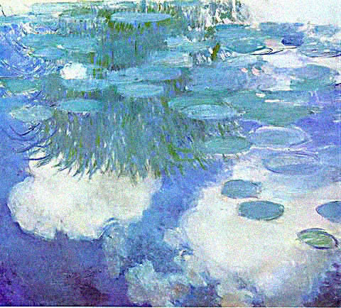 Claude Monet-Nympheas 1914