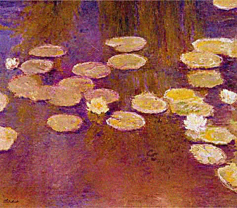 Claude Monet-Nympheas 1915